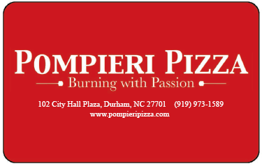 Pompieri Pizza Gift Card
